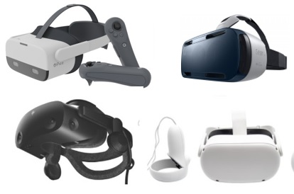 beste virtual reality brillen - vr-brillen en vr headsets